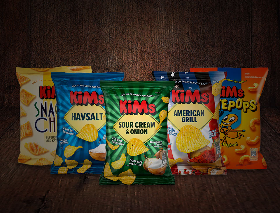 Chips og snacks