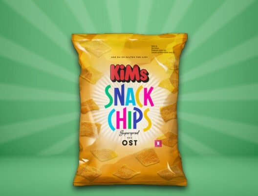 KiMs Snack Chips Ost 160g